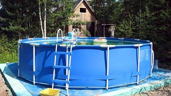 Как собрать каркасный бассейн Интекс