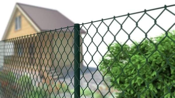 Забор Из Рабицы Своими Руками - Как Сделать Забор Из Сетки Рабицы