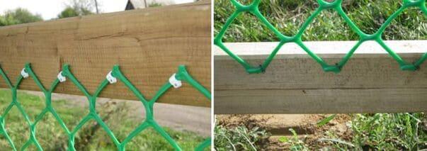 Как Сделать Забор Из Пластиковой (ПВХ) Сетки Своими Руками