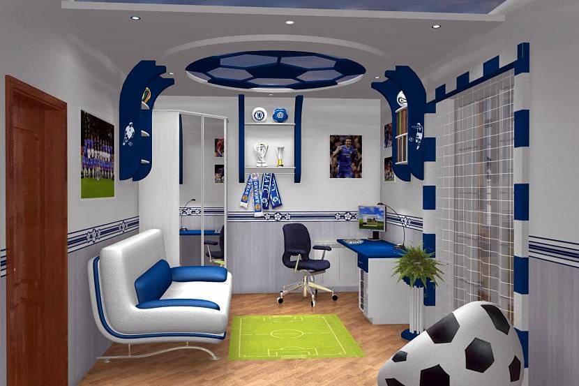 Выбор оформления комнаты для мальчика 10