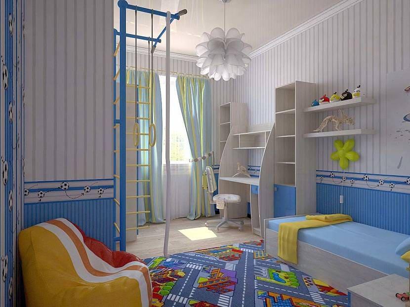 Выбор оформления комнаты для мальчика 2