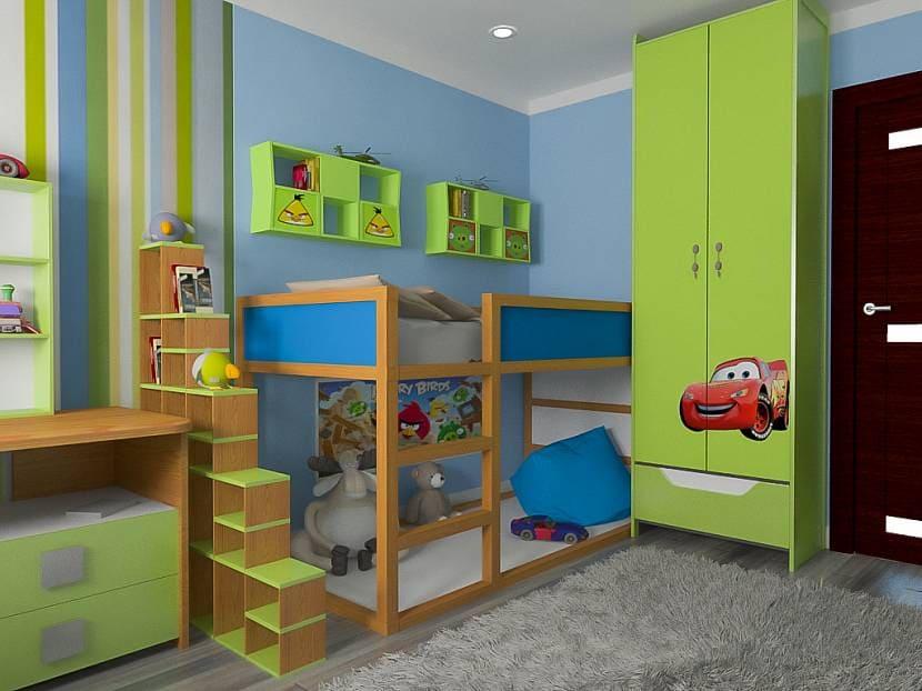 Выбор оформления комнаты для мальчика 3
