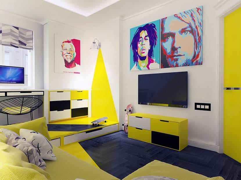 Выбор оформления комнаты для мальчика
