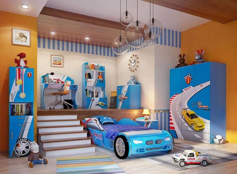 Выбор оформления комнаты для мальчика 5