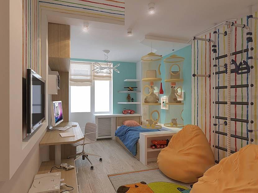 Выбор оформления комнаты для мальчика 6