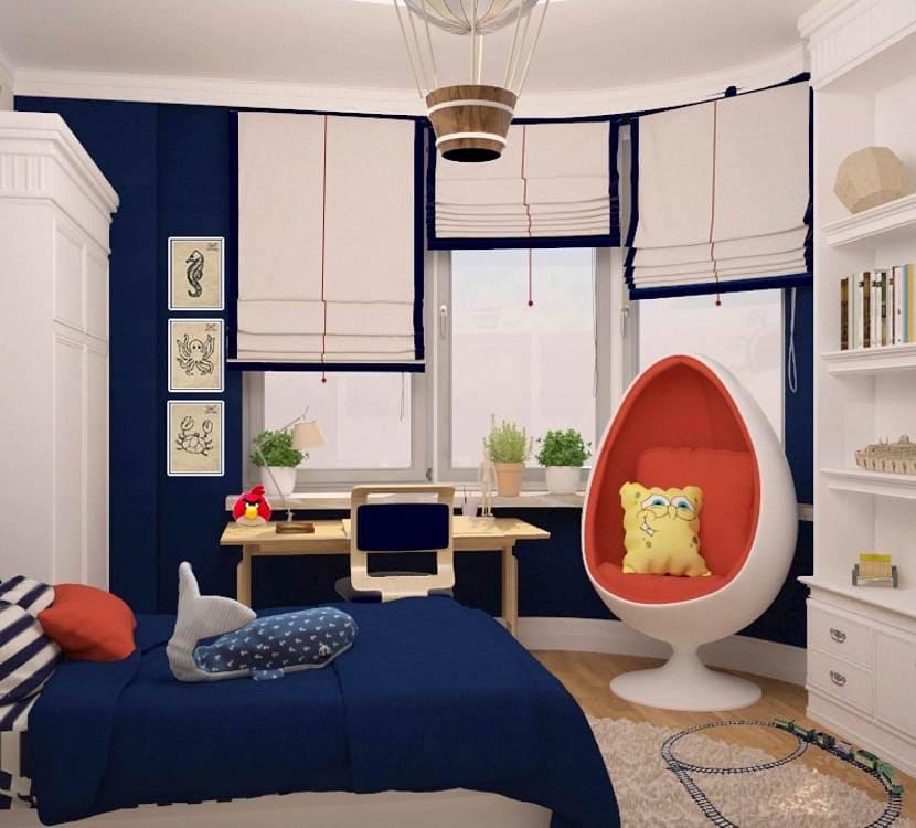 Выбор оформления комнаты для мальчика 7