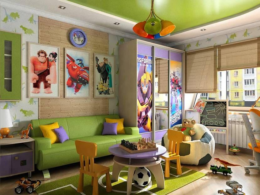Выбор оформления комнаты для мальчика 9