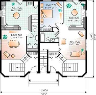 Какие идеи по лучшей планировке комнат в частном доме - Обзор - 6 на 8, 8 на 10, 10 на 10 и 10 на 12 + Видео