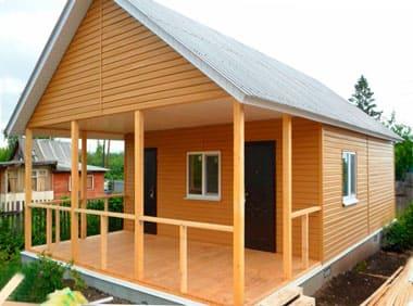 Какой выбрать Проект под строительство дачного каркасного дома: пошагово — с санузлом осб сайдинг и печкой + Видео