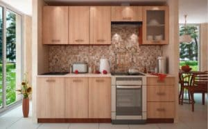 Как выглядит мебель цвета светлого ореха 4