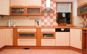 Как выглядит мебель цвета светлого ореха 8