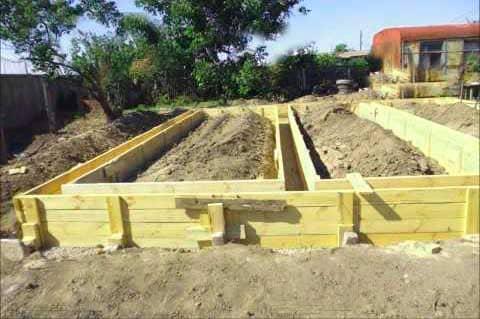 Как заложить фундамент под каркасный дом своими руками - какой лучше 3