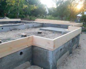 Как заложить фундамент под каркасный дом своими руками - какой лучше? Обзор + Видео