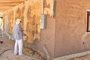 Как оштукатурить деревянные стены внутри дома? Виды штукатурки с глиной и сеткой: Плюсы и Минусы + Видео