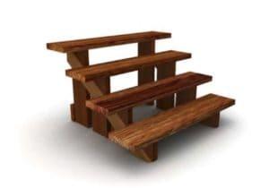 Как построить деревянную лестницу на террасу своими руками для деревянного дома: Пошагово и чертежи + Видео
