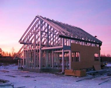 Как построить каркасный дом из металла своими руками? Пошаговая инструкция - Обзор + Видео