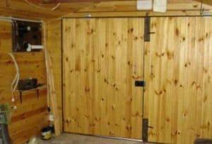 Как сделать деревянные ворота для гаража своими руками? Обзор - Чертежи и Виды — Распашные и с подъемным механизмом + Видео