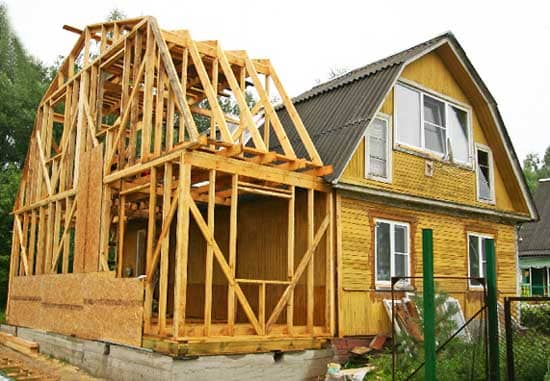 Как сделать каркасную пристройку к деревянному дому своими руками: Обзор и Пошаговая инструкция + Видео