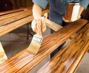 Как сделать ступеньки из дерева для крыльца своими руками 9