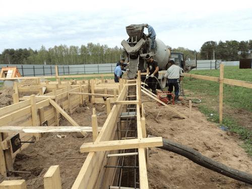 Как устроена опалубка фундамента из досок и перекрытий дома для стен над землей своими руками: Пошаговая инструкция + Видео