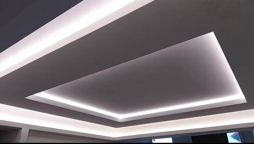 Многоуровневый парящий потолок