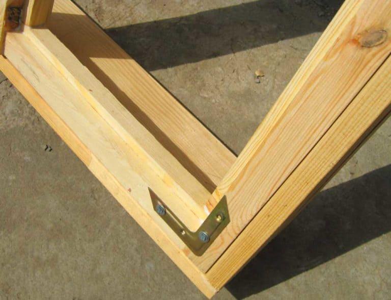 Монтаж оконных рам с нуля своими руками самому из дерева или фанеры 5