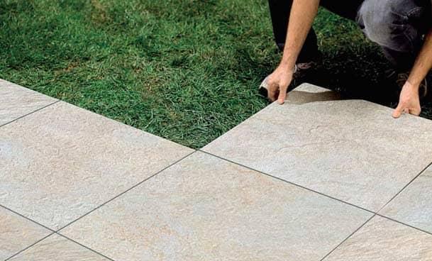 Монтаж уличной керамической плитки: морозостойкий керамогранит для улицы: Советы + Видео