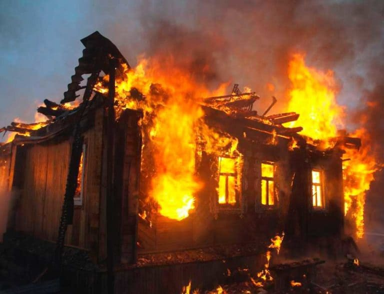 Пожарная безопасность частных домов