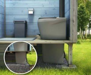 Строительство деревенского туалета своими руками 8