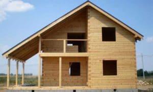 Строительство дома из бруса своими руками: Пошаговая инструкция + Видео