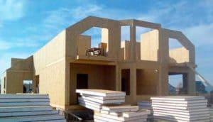 Строительство дома из сэндвич панелей своими руками