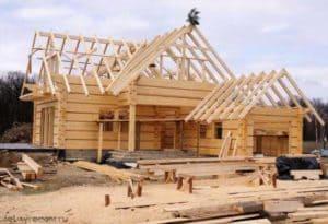 Технология строительства дома из бруса поэтапно своими руками: Инструкция + Фото и Видео