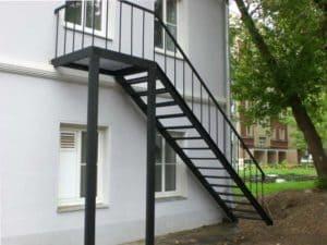 Металлические лестницы своими руками + чертежи, схемы