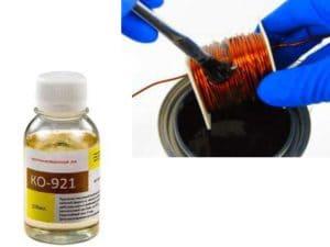 Электроизоляционный лак КО-921 и КО-916: технические характеристики и аналоги