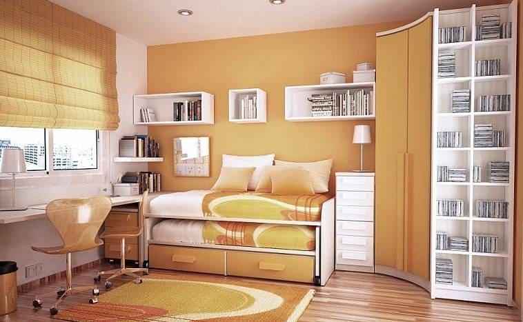 Как расставить мебель в комнате на 10 кв м