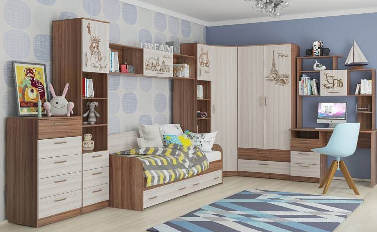 Гарнитур для детской комнаты