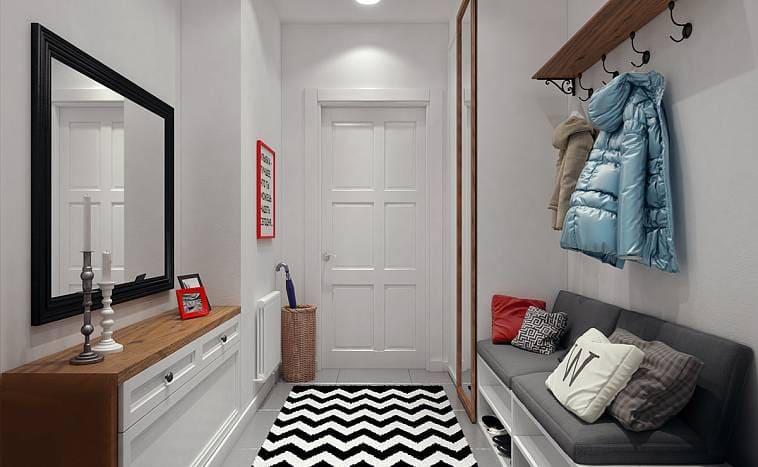 Мебель для прихожей в скандинавском стиле