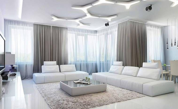 Выбор обоев и штор для комнаты