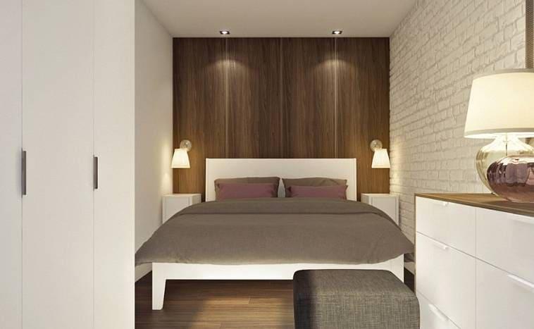 Спальня 8 метров: дизайн
