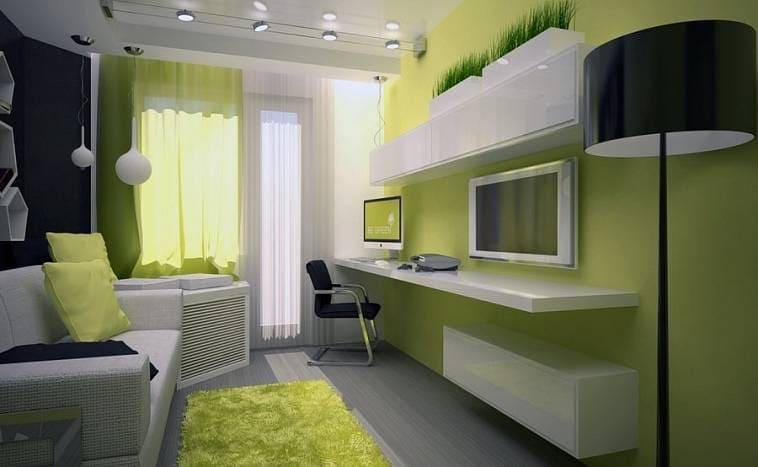 Красивые идеи дизайна маленькой комнаты