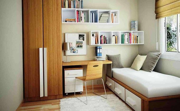 Размер комнаты при выборе дизайна