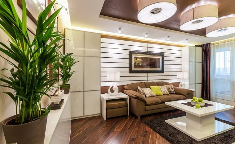 Гостиная 15 кв м: дизайн