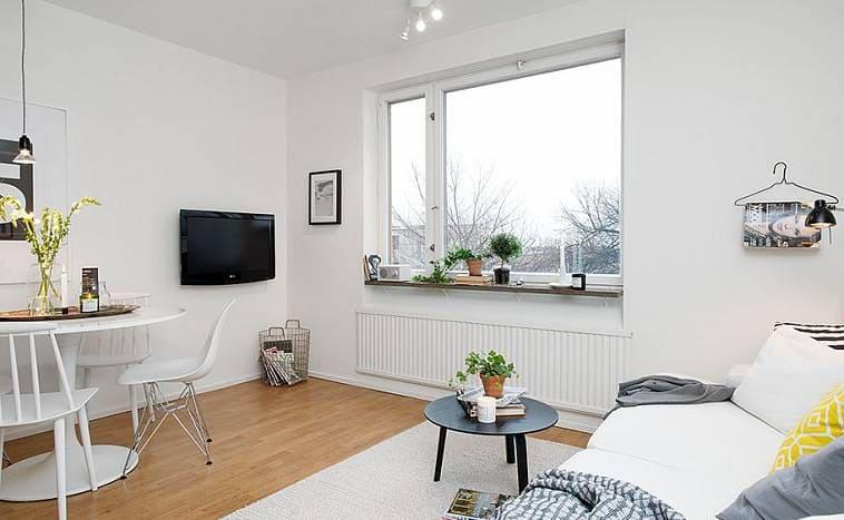 Дизайн квартиры без штор