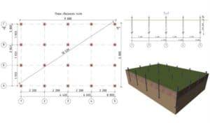 Как рассчитать свайное поле и что это такое? Инструкции +Фото