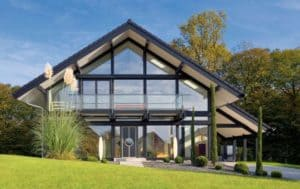 Дом из стекла: проект, особенности- Фото и Обзоры +Видео инструкции