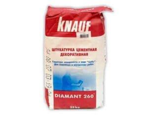 Кнауф Диамант- декоративная штукатурка : Особенности состава и способы нанесения-