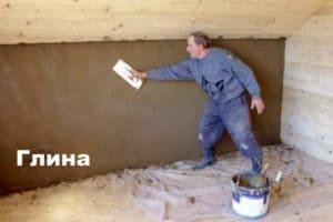 Как оштукатурить деревянные стены внутри дома? Виды штукатурки с глиной