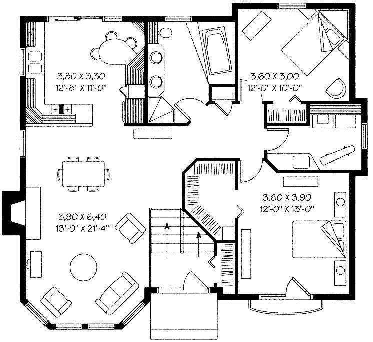 Пример планировки дома
