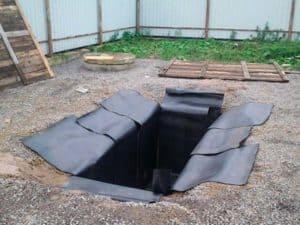 Как сделать гидроизоляцию ямы в гараже от грунтовых вод своими