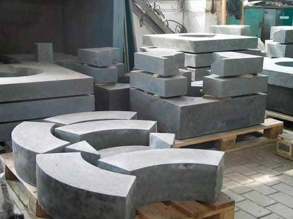 Приготавливаем жаропрочный бетон своими руками: Пропорции и инструкция- Обзор +Видео